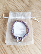 Load image into Gallery viewer, Lepidolite SURVIVOR Bracelet - Gina's Charms