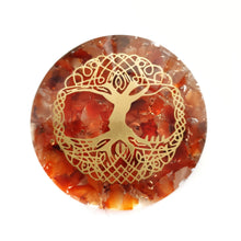 Load image into Gallery viewer, Orgonite - Carnelian Tree of Life