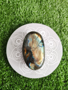 Labradorite Freeform Gallet Medium - Gina's Charms