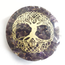 Load image into Gallery viewer, Orgonite - Amethyst Tree of Life - Gina's Charms