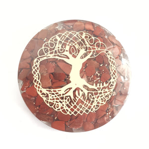 Orgonite - Red Jasper Tree of Life - Gina's Charms