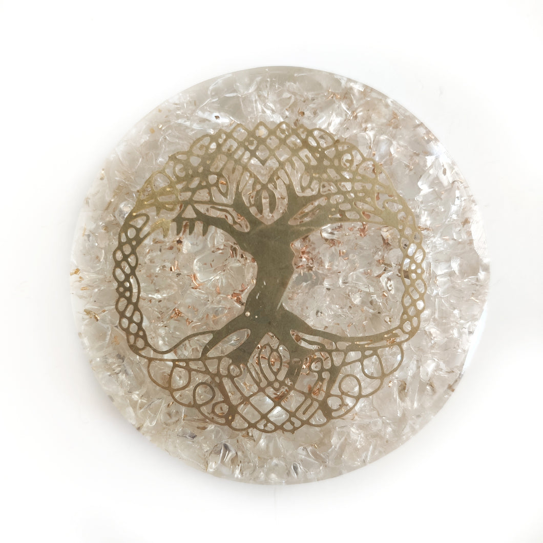 Orgonite - Clear Quartz Tree of Life - Gina's Charms