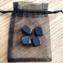 Load image into Gallery viewer, Crystal Tumbles Protection Set - Black Obsidian - Gina's Charms