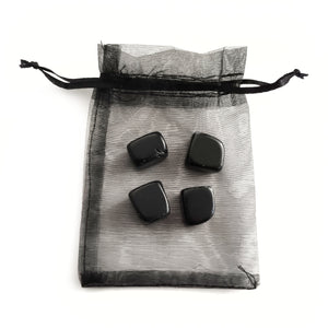 Crystal Tumbles Protection Set - Black Obsidian - Gina's Charms