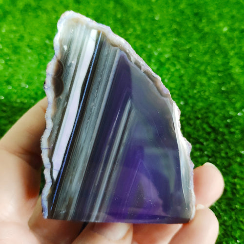Agate End - Purple #1244