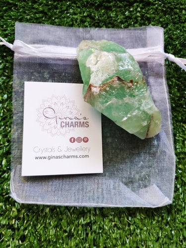 Emerald Green Calcite Natural S3 Chunks - Gina's Charms