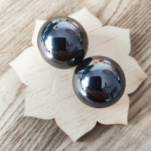 Set of Magnetic Hematite Spheres - Gina's Charms