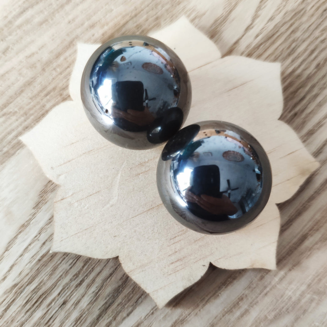 Set of Magnetic Hematite Spheres - Small - Gina's Charms