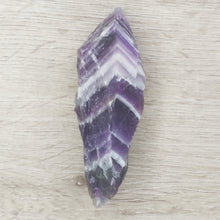 Load image into Gallery viewer, Raw Crystal Chevron Amethyst Points - Gina's Charms