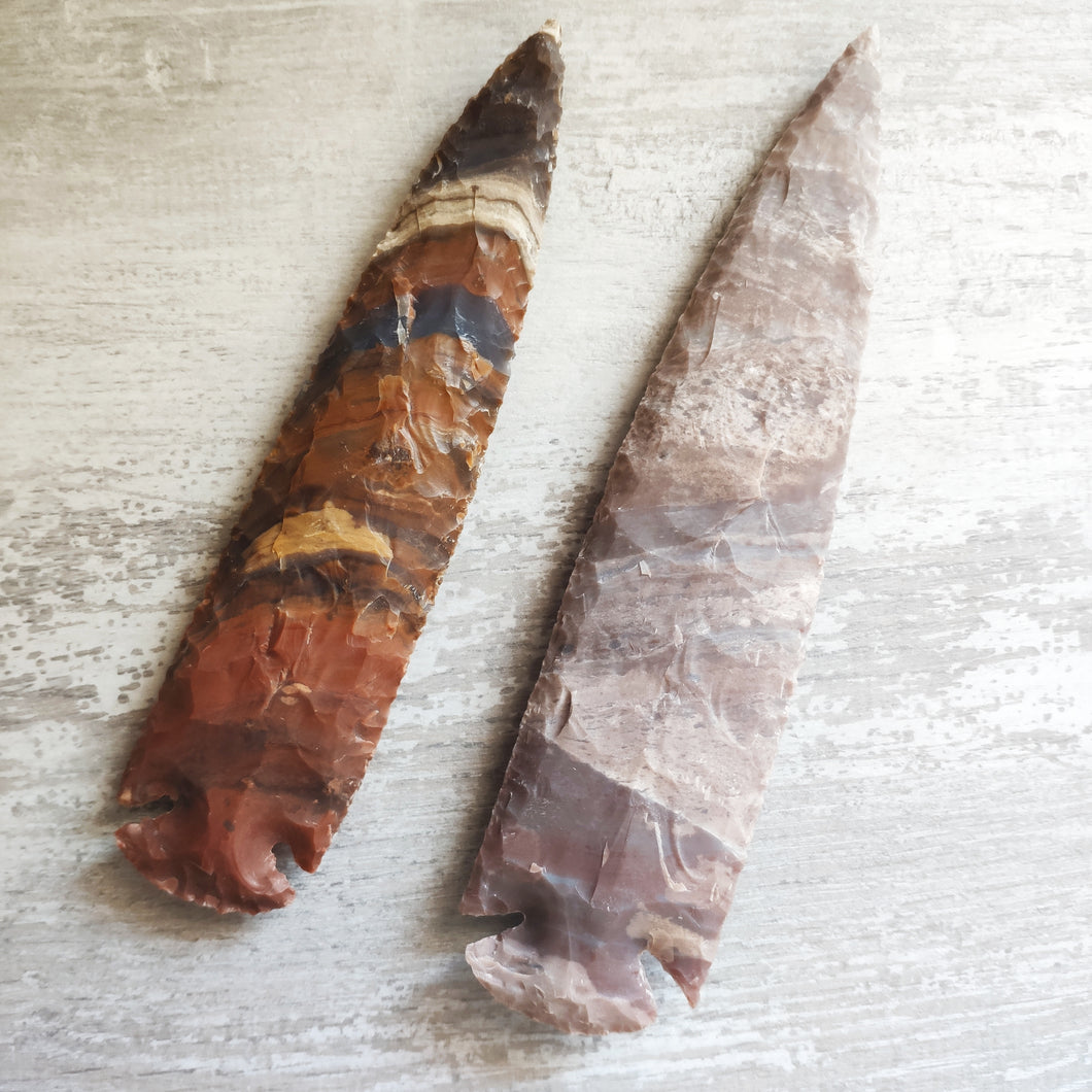 Agate Arrow Head XL - Gina's Charms