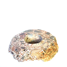 Load image into Gallery viewer, Leopard Jasper Polished Candle Holder - Gina's Charms