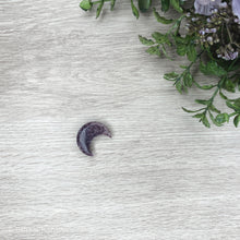 Load image into Gallery viewer, Crescent Moon - Lepidolite - Gina's Charms