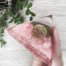 Load image into Gallery viewer, Orgonite Pyramid - Rose Quartz - Gina's Charms