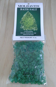 Crystal Bath Salts - Moldavite