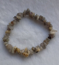 Load image into Gallery viewer, Labradorite Gemstone Chips Bracelet - Gina's Charms