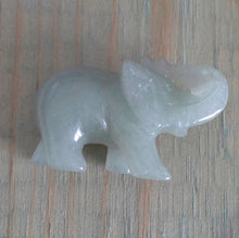 Load image into Gallery viewer, Crystal Elephant Carving - Green Aventurine - Small #344