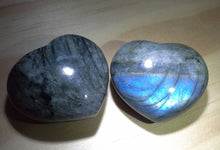 Load image into Gallery viewer, Labradorite Gemstone Heart #2