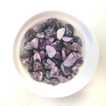 Load image into Gallery viewer, Bag of Amethyst Tumbles for Crystal Water Bottle