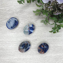 Load image into Gallery viewer, Sunset Sodalite Worry Stone - Gina's Charms