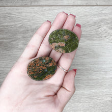Load image into Gallery viewer, Unakite Worry Stone - Gina's Charms