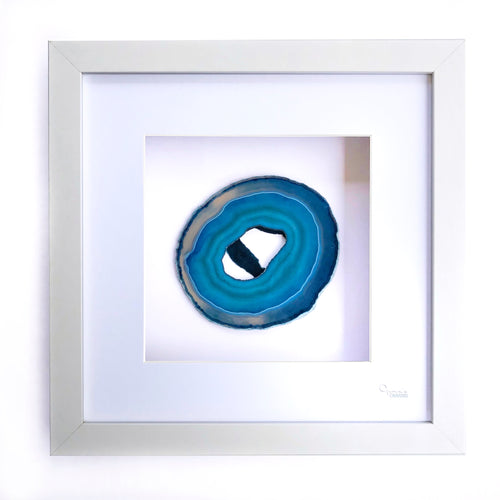 Framed Agate - Blue #18