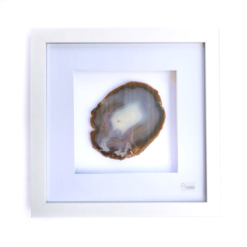 Framed Agate - Brown #11