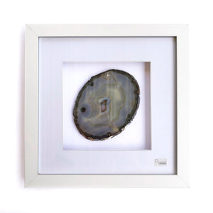 Framed Agate - Grey #14