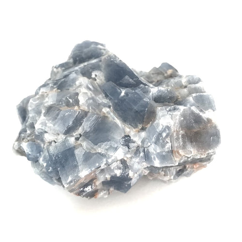Blue Calcite S2 - Rough Chunks - Gina's Charms