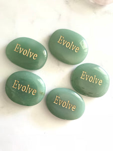 Crystal - Wordstone - EVOLVE - Green Aventurine