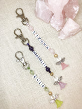 Load image into Gallery viewer, Kid's Personalised ANGEL PROTECTION Bagcharm