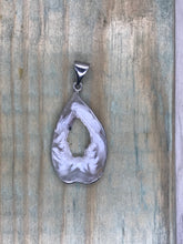 Load image into Gallery viewer, Druzy Agate Sterling Silver Pendant #6
