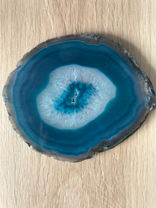 Crystal - Agate Slice Xtra Large #216 - Green