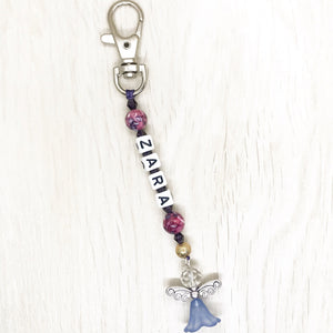 Kid's Personalised ANGEL PROTECTION Bagcharm
