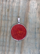 Load image into Gallery viewer, Tree of Life Pendant - Coral Sterling Silver - Gina's Charms