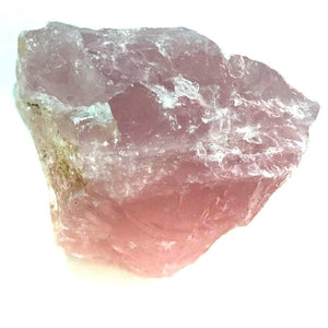 Crystal - Rough Chunks - Rose Quartz S6