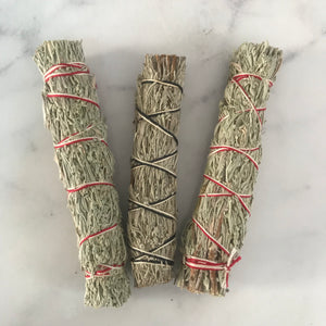 Mugwort Smudge Stick - M