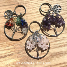 Load image into Gallery viewer, Gift Box - Amethyst Tree of Life Keychain