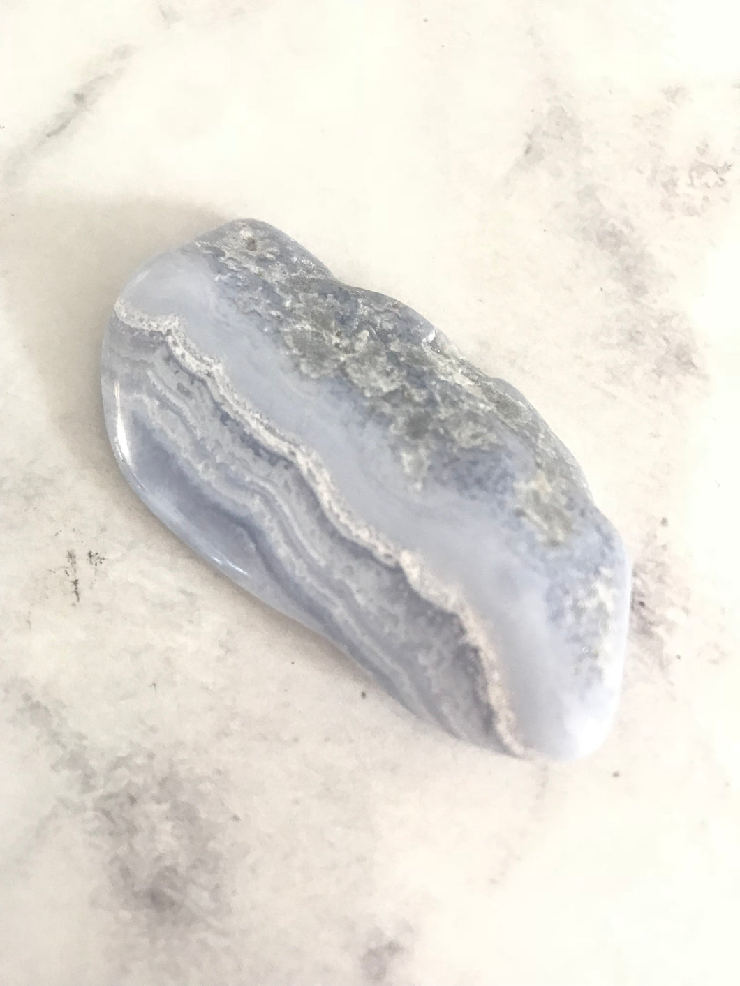 Crystal - BLUE LACE AGATE #512