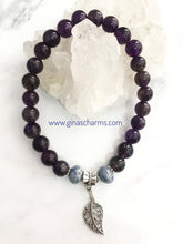 Load image into Gallery viewer, Amethyst & Sodalite HAPPINESS Bracelet