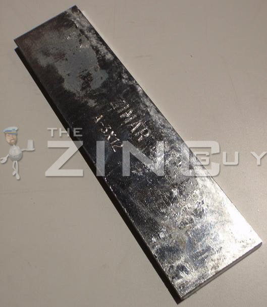 A-3 x 12 Bolt-on Zinc Plate Anode