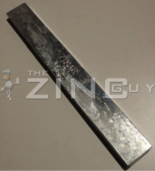 A-1 1/2 x 12 Bolt-on Zinc Plate Anode