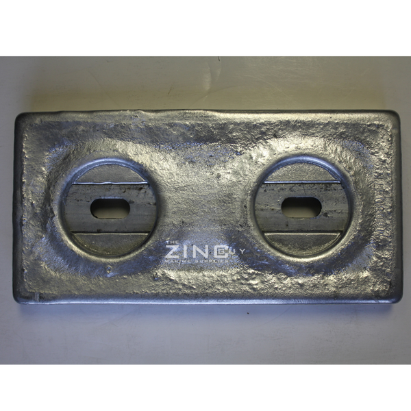 TH-24 ZNGUY Bolt-on Zinc  ZHC23 Plate Anode