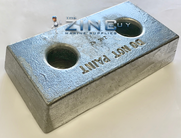 ZHC-42 bolt on Commercial Zinc Anode