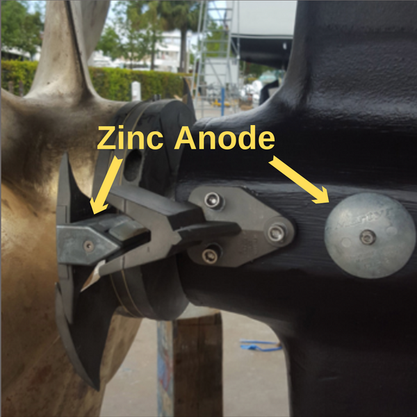 SPURS A-B Zinc Anode Cutter With Bolts