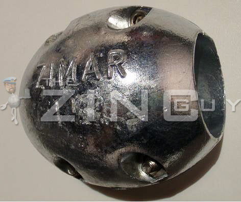 MX-45 Shaft Zinc Anode (metric)