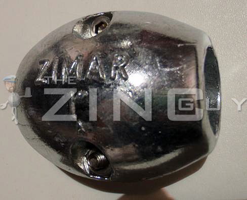 MX-55 Shaft Zinc Anode (metric)