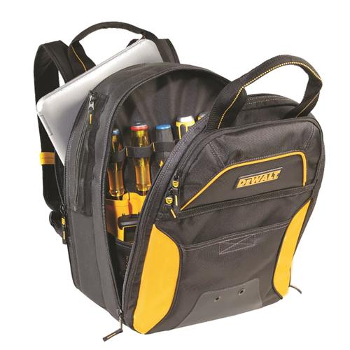 CLC DGC533 DEWALT&reg 33 Pocket USB Charging Tool Backpack - No LED Light