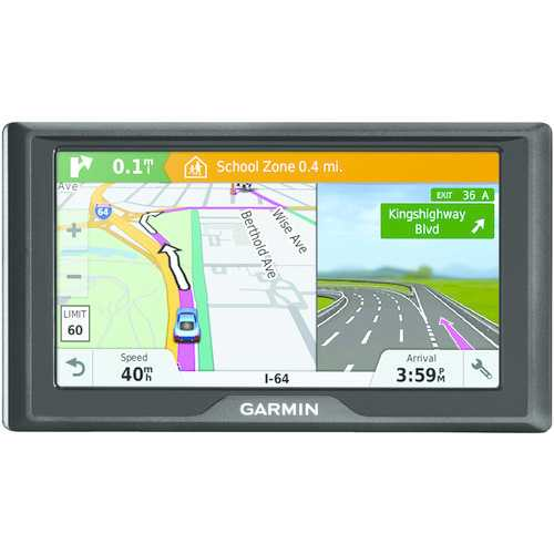 "Garmin  Drive 61 Lm 6"" Gps Navigator With Lifetime Maps Of The Lower 49 States & Driver Alerts (pack of 1 Ea)"