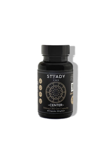 Steady Center CBD Isolate Soft Gels