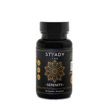 Steady Serenity Full Spectrum CBD Soft Gels